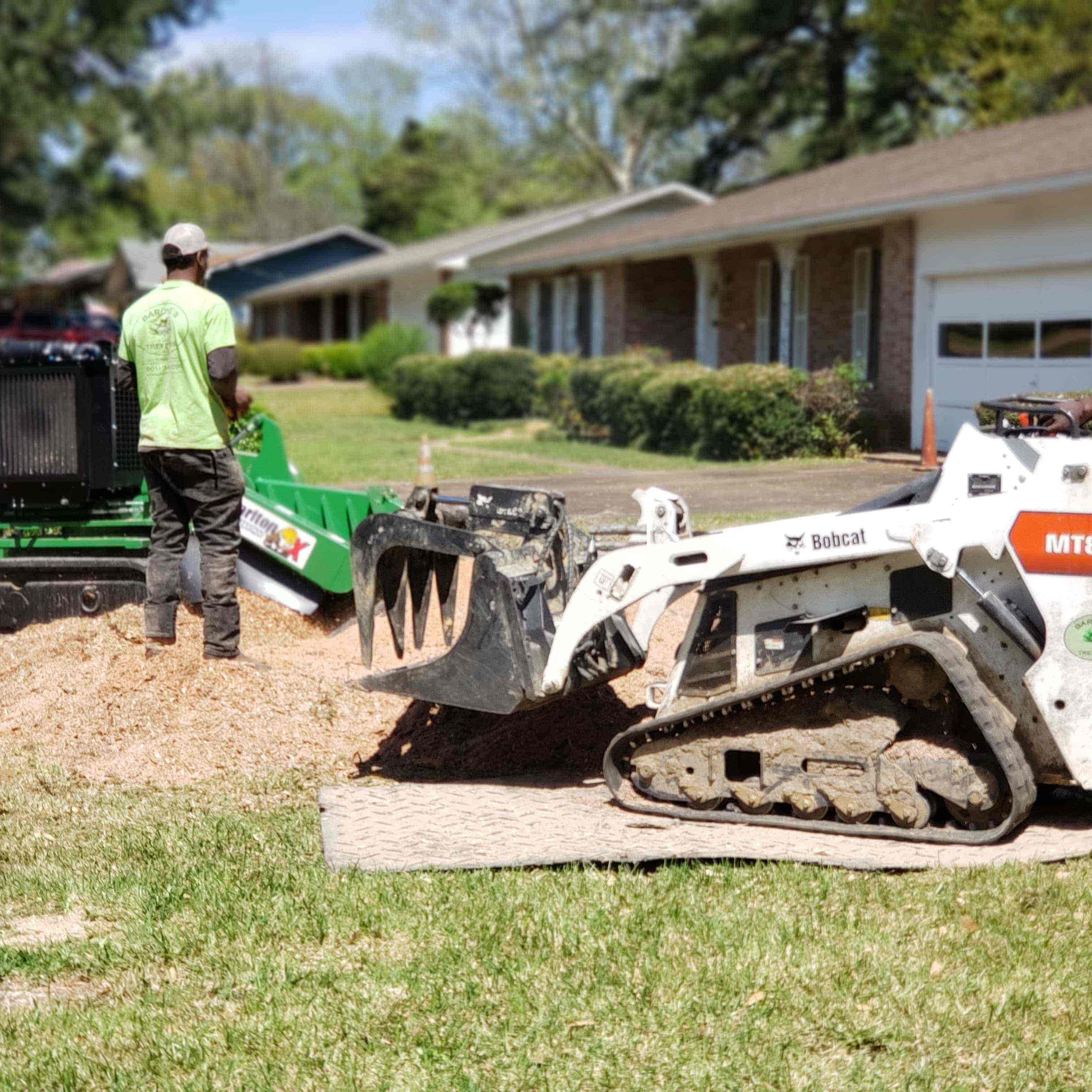 our stump grinding equipments